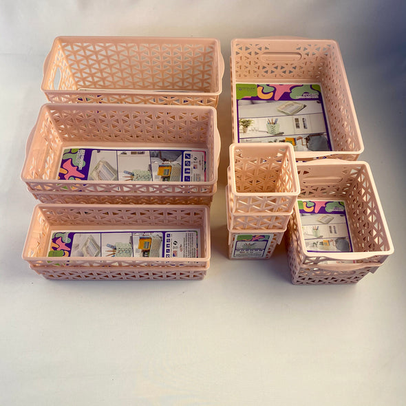 12 Piece Organization Bin Set