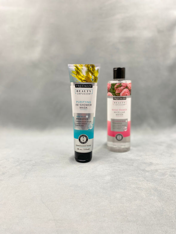 Freeman Purifying In-Shower Mask and Freeman Mask Primer
