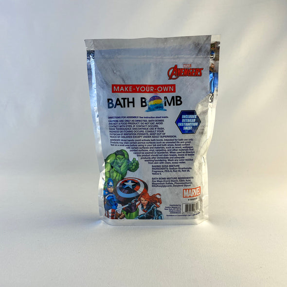 Avengers Make-Your-Own Bath Bomb
