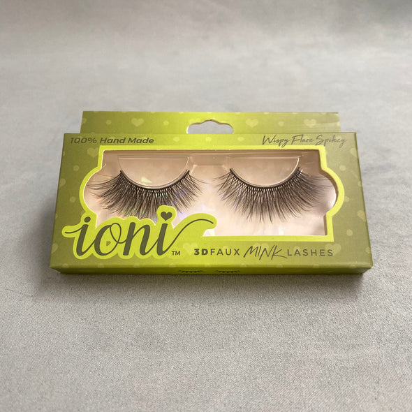 Ioni 3D Faux Mink Lashes - Wispy Flare Spikey