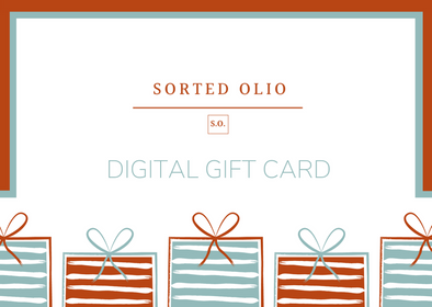 Sorted Olio Digital Gift Card