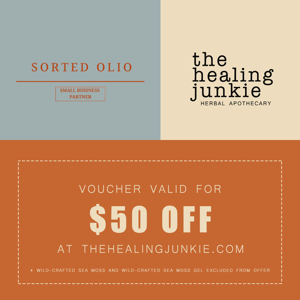 The Healing Junkie $50 Voucher