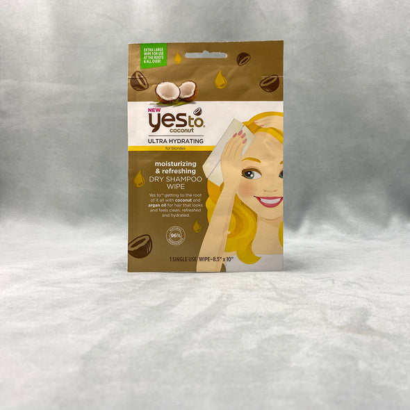 Yes To Coconut Dry Shampoo Wipe