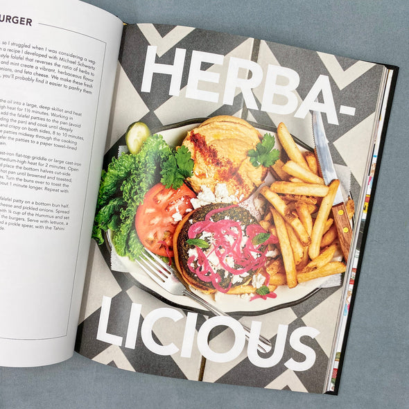 Craft Burgers & Crazy Shakes From Black Tap Cookbook  - Fries - Herbs