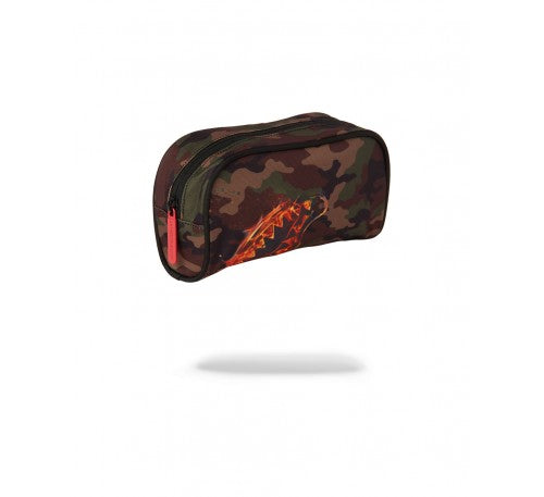 SPRAYGROUND - FIRE SHARK POUCH