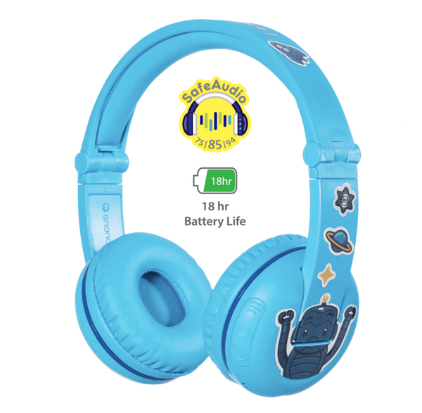 Play Wireless Bluetooth Headphones For Kids - Blue