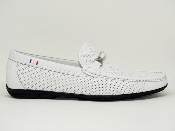 White Casual Shoes Slip On - Roberto Fabiani