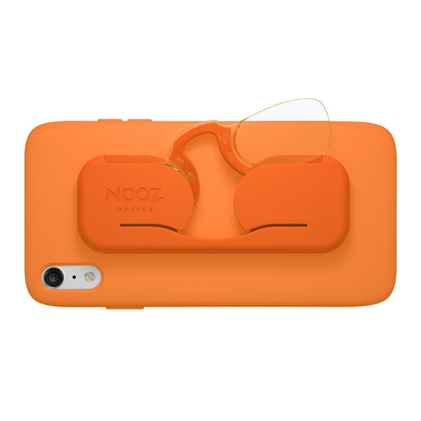 Reading Glasses Smart Phone Orange 1.5° Nooz Optics