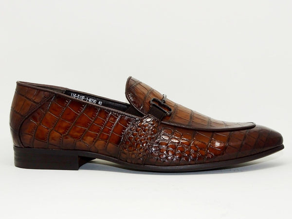Brown Formal Shoes Slip On - Roberto Fabiani