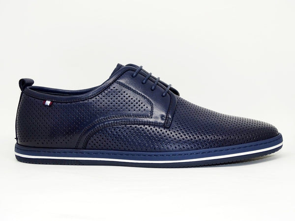 Blue Casual Shoes Slip On - Roberto Fabiani