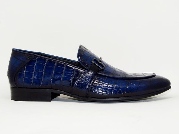 Blue Formal Shoes Slip On - Roberto Fabiani