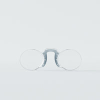 Original Reading Glasses Oval Silver 1.5° Nooz Optics