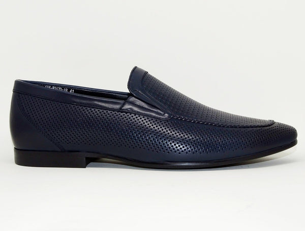 Black Formal Shoes Slip On - Roberto Fabiani