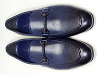 Navy Blue Formal Shoes Slip On - Roberto Fabiani