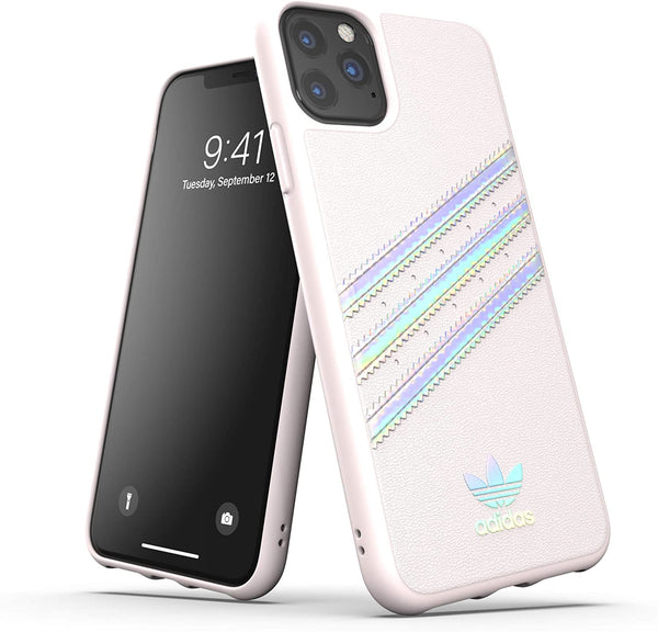 Original 3-Stripes Case Orchid Tint Holographic (iPhone 11 Pro Max)