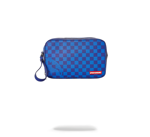 SPRAYGROUND - BLUE CHECKERED SHARK