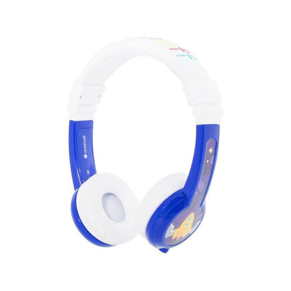 Explore Foldable Headphones With Mic Blue