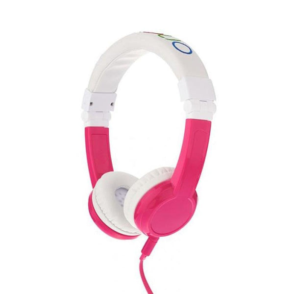 Explore Foldable Headphones With Mic Pink