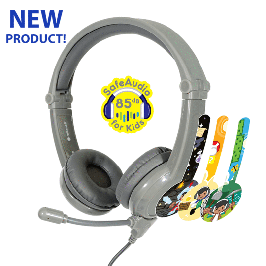 Galaxy Gaming Headphones - Grey