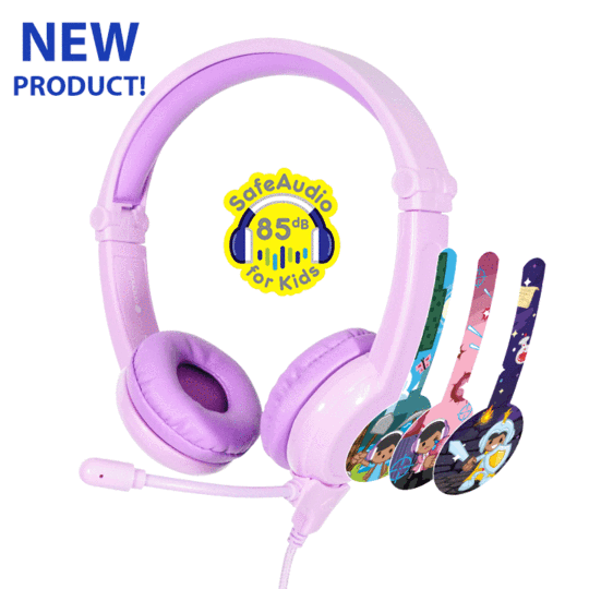 Galaxy Gaming Headphones - Purple
