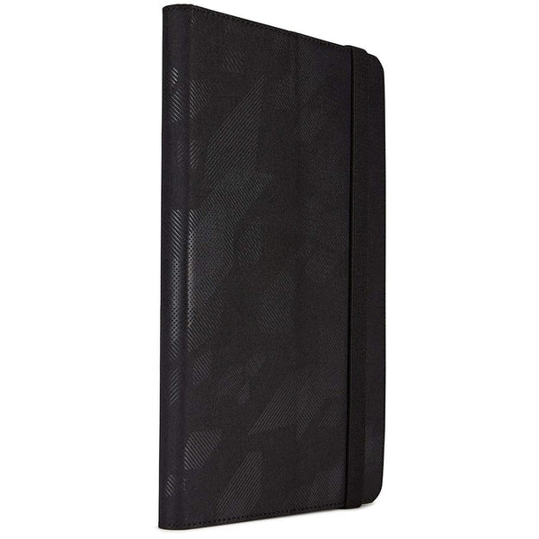 "Universal Super Fit Folio Case for 8"" Tablets - Black"