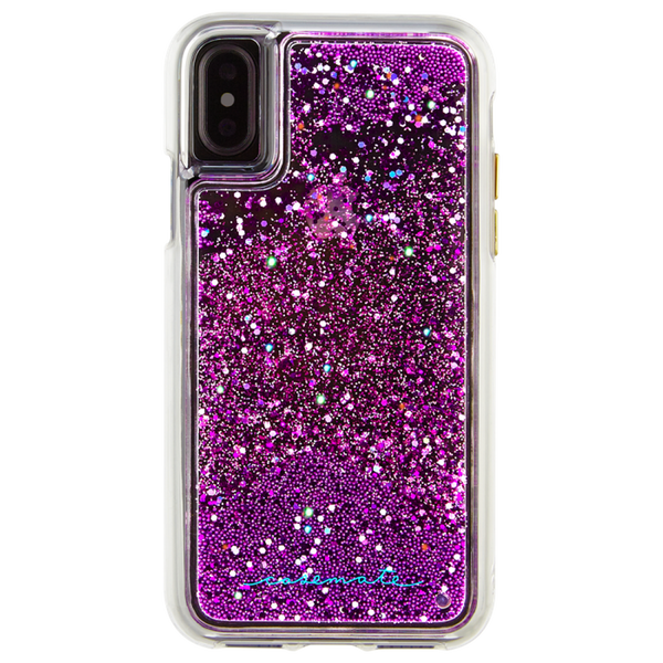 Waterfall Case For iPhone XS/X Magenta