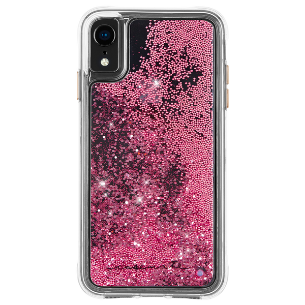 Waterfall Case For iPhone XR Rose Gold