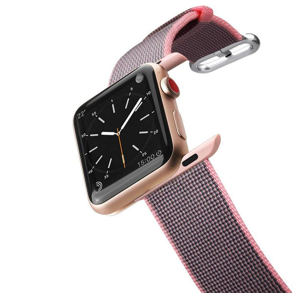Apple Watch Band Nylon Fabric All Series 42mm Pink