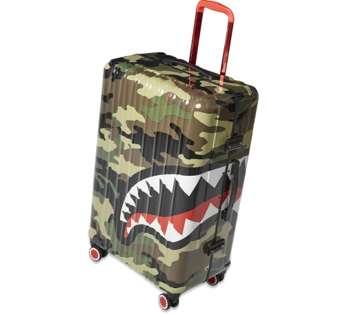 SPRAYGROUND - 29'' CAMO SHARKMOUTH