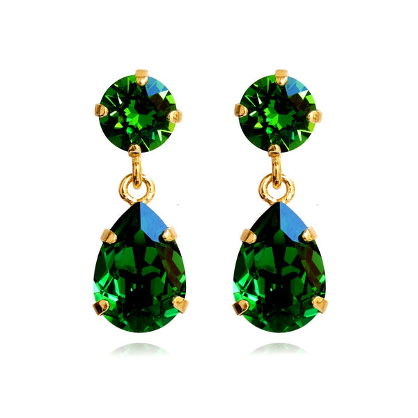 Earrings Emerald - Caroline Svedbom