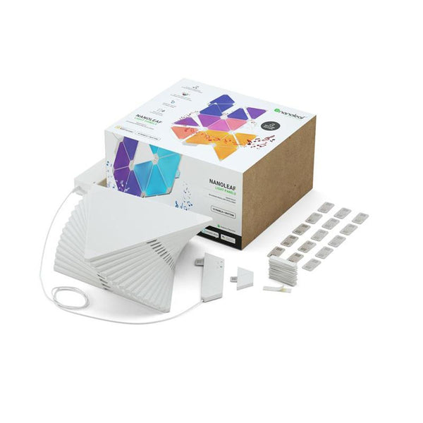 Nanoleaf - Light Panels Smarter Kit Rhythm Edition (15 panels + 1 controller)