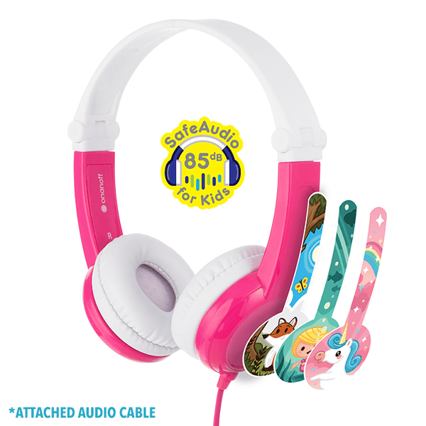 Connect On-Ear Wired Headphones Pink
