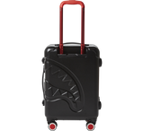 SPRAYGROUND - 22'' BLACK MOLDED SHARKMOUTH CARRY-ON