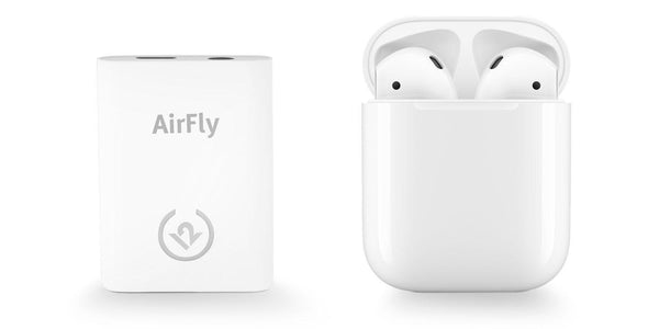 Twelve South - Airfly Airpod Bluetooth Dongle For Air Flights