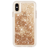 Waterfall Case For iPhone XS Max Gold