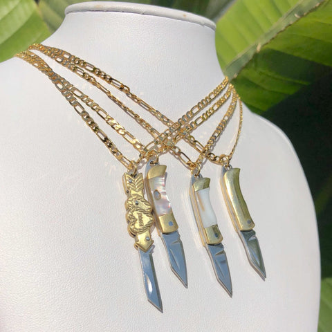 Mini Knife Necklace - 4 Styles