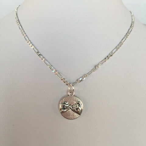 Pinky Promise Necklace - Gold/Silver