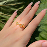 Angel Wings Ring - Gold/Silver