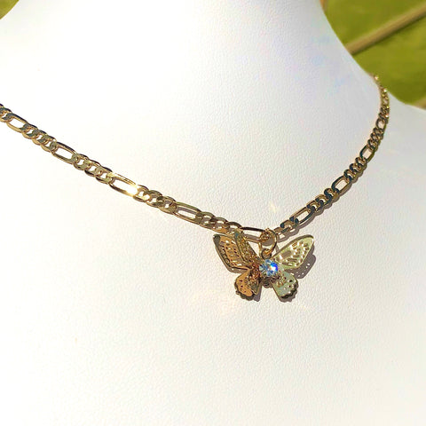 Zephyr Butterfly Necklace