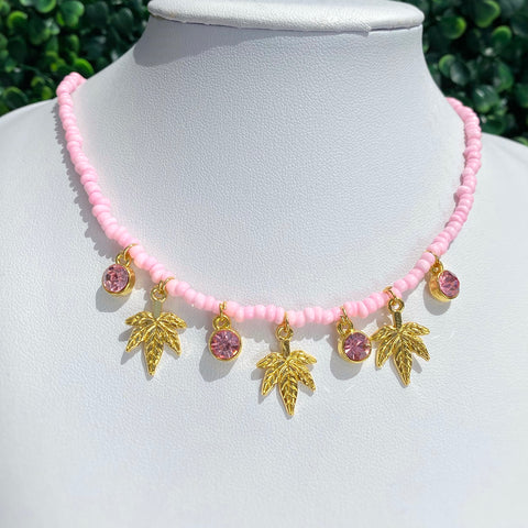 Dope Pink Necklace