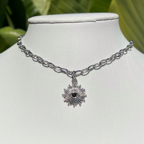 Silver Hala Necklace