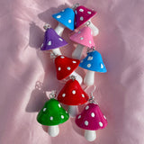 Jumbo Mushroom Earrings