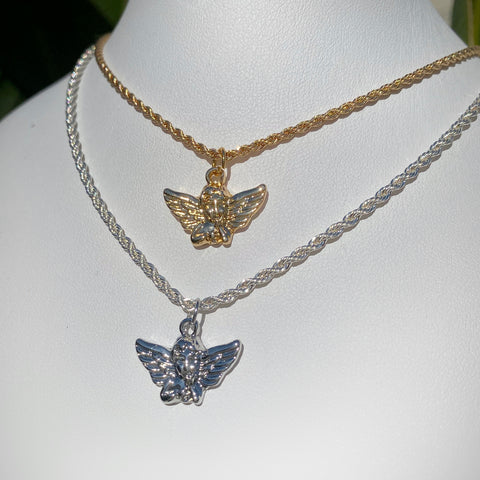 Sweet Angel Chain Necklace