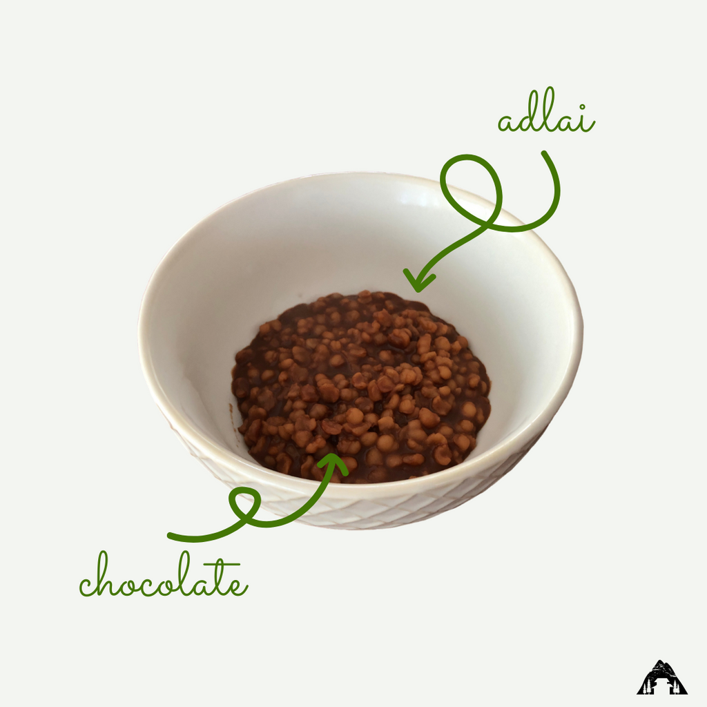 Cook the adlai in rich chocolate to make this delicious Adlai Champorado