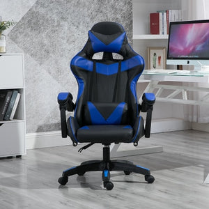 WCG Gaming Chair with Footrest Lift Up