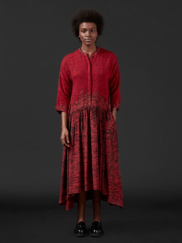 RED_SILKMOHAIRDRESS_MONOCHROME