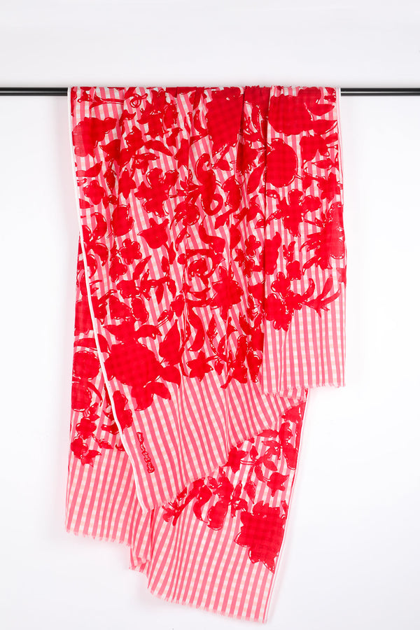foulard-moucharabieh-red-miicollection