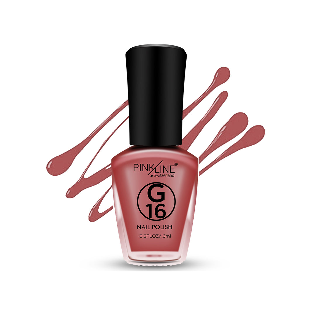 Pinkline Matt-II G16-21 Nail Polish 6ml