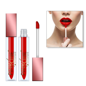 Pinkline Lip Love Matte Lip Gloss Lipstick Combo of 3 Stylish,Lady Red,Soft Pink, 18gm