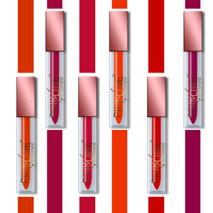 Pinkline Get Glammed Matte Lip Gloss Combo of 12 Juciy,Long Island,Terminator,Plumpy,Hot Red,Ruby Red,Stylish,Lady Red,Soft Pink,Pink Party,Retro Red,Red Oxide, 72gm